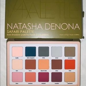 Natasha Denona Safari All Matte Eyeshadow Palette